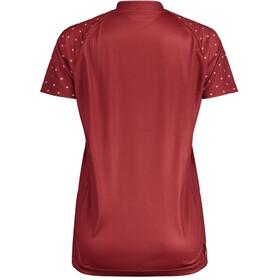 Maloja ArgoviaM. Multi 1/2 Multisport Jersey Korte Mouwen Dames, red monk
